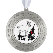Goat rocks - 2015 Chinese New Year of The Goat - Ornament