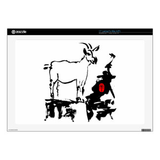 "Goat rocks - 2015 Year of The Goat - 17"" Laptop Skins"