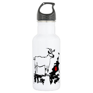 Goat rocks - Born in Year of The Goat - Stainless Steel Water Bottle