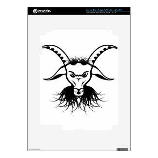 Goat Satan Devil Evil Vector iPad 3 Skin