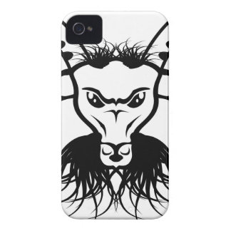 Goat Satan Devil Evil Vector iPhone 4 Case