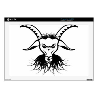 Goat Satan Devil Evil Vector Laptop Decals