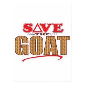 Goat Save Postcard