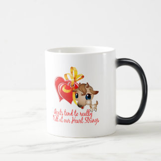 Goat Shirts and Goat Merchandise Magic Mug