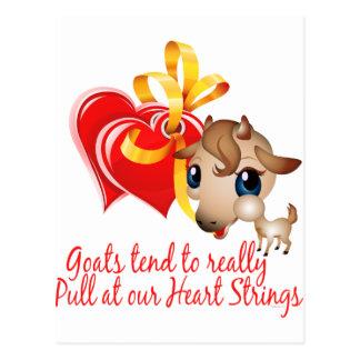 Goat Shirts and Goat Merchandise Postcard