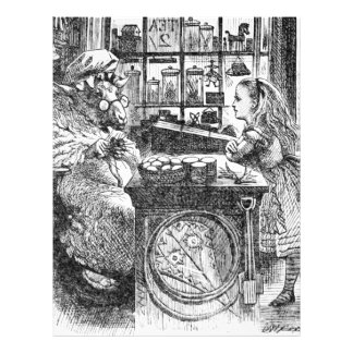 Goat Shopkeeperand  Alice Letterhead