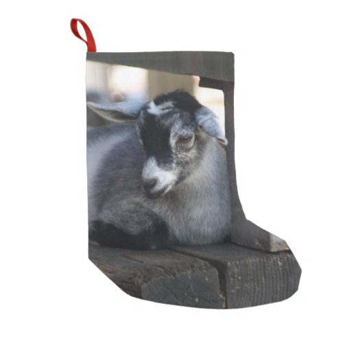 Goat Small Christmas Stocking