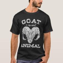 Goat spiritual animal T-Shirt