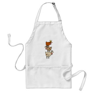 goat stack adult apron