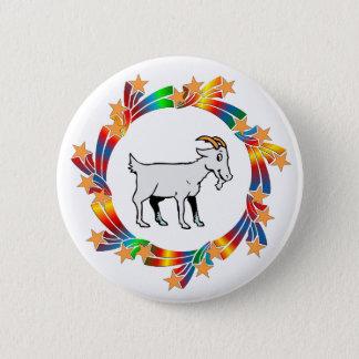 Goat Stars Pinback Button