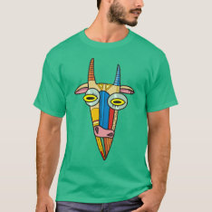 Goat T-shirt at Zazzle