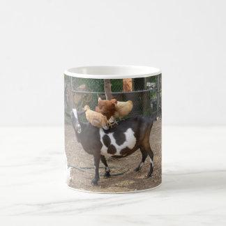 Goat taxi coffee mug