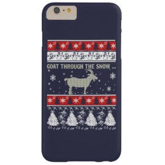 Goat through the snow... barely there iPhone 6 plus case