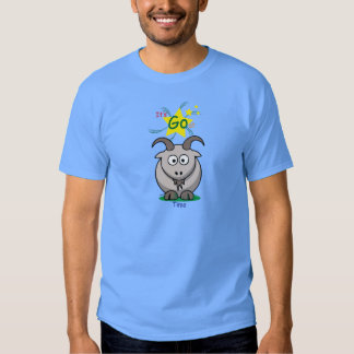goat time t-shirt