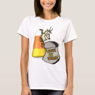Goat Trick or Treat Halloween Gifts T-Shirt