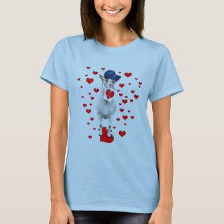 GOAT-Valentine-I LoveYou T-Shirt