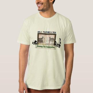 Goat Watchers 2012 - Large Front Design T Shirts
