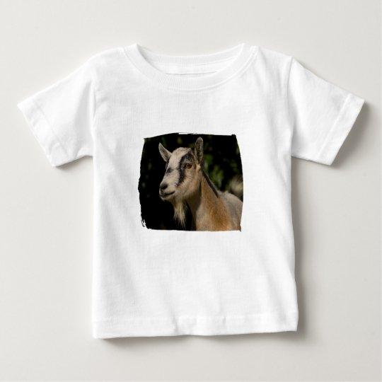 Goat Watching Baby T-Shirt