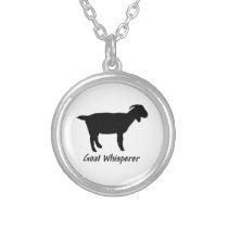 Goat Whisperer Silver Plated Necklace