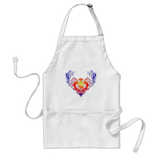 Goat Winged Heart Adult Apron