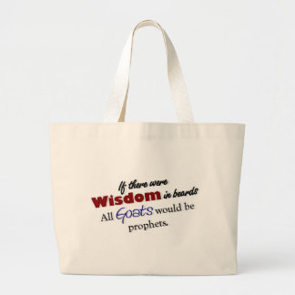 Goat Wisdom Tote Tote Bag
