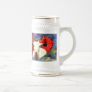 Goat With Heart Stein &