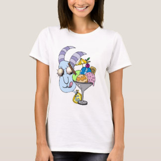 Goat with Ice Cream T-Shirt