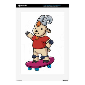 Goat With Skateboard. PS3 Skin