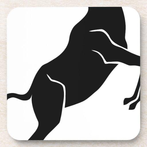 goat ziege ram bock ibex capricorn ziegenbock posavasos de bebida