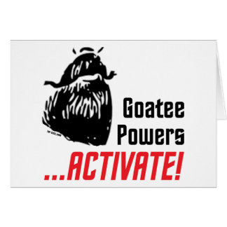 Goatee Powers Card