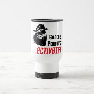 Goatee Powers Travel Mug