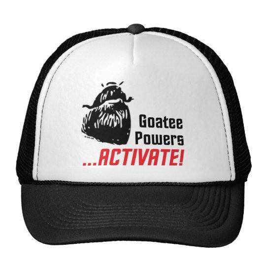 Goatee Powers Trucker Hat