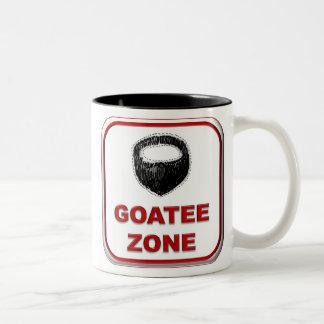 Goatee Zone II Two-Tone Coffee Mug