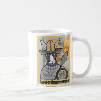 Goaterdammerung: Crepúsculo de las cabras Taza