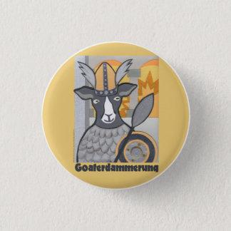 Goaterdammerung:  Twilight of the Goats Pinback Button