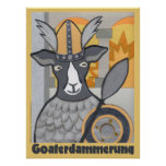 Goaterdammerung: Twilight of the Goats Posters