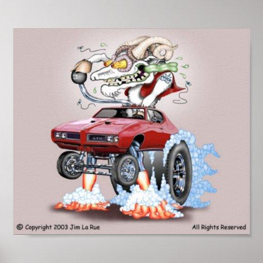 Goatoon Monster Poster