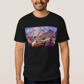 Goats and mountains t-shirt