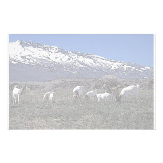 Goats and Ruby Mountains Stationery