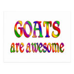 Goats are Awesome Postcard