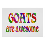 Goats are Awesome Posters