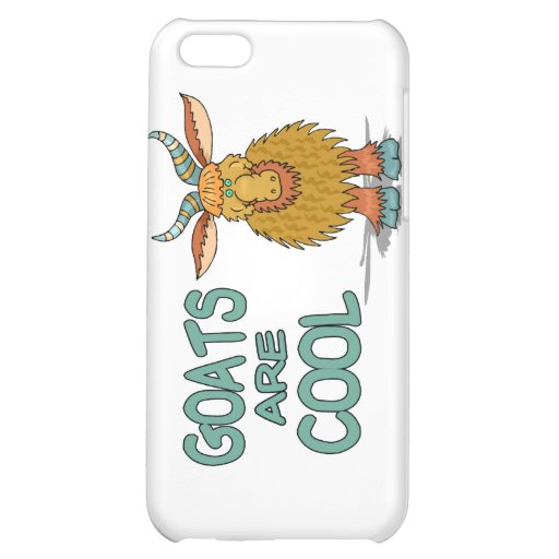 Goats Are Cool iPhone 5C Cover