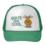 Goats Are Cool Mesh Hats