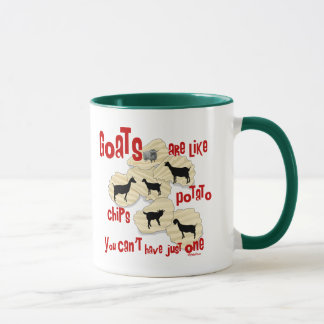 Goats are Like Potato Chips Mug
