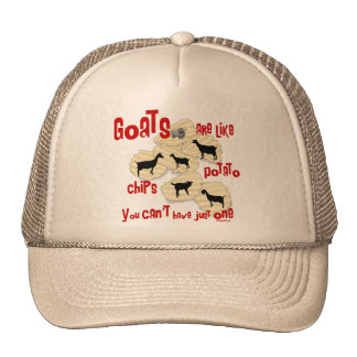 Goats are Like Potato Chips Trucker Hat