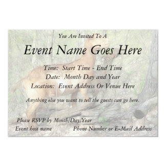 Goats At Work 5x7 Paper Invitation Card