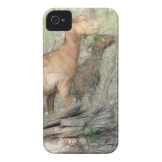 Goats At Work iPhone 4 Cover