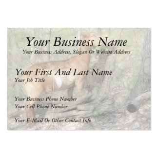 Goats At Work Large Business Card