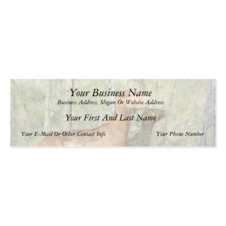 Goats At Work Mini Business Card