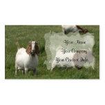 Goats Business Card Template